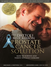 Book cover Prostate Cancer a survivors guide